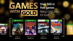 Xbox Live Games With Gold Mai 2016: Kostenlos für XOne: Defense Grid 2, Costume Quest 2 X360: GRID 2, Peggle