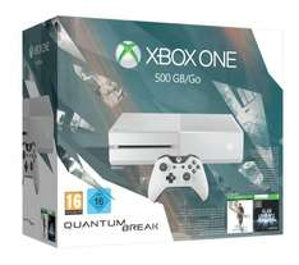 [Amazon] Xbox One 500GB oder schwarz + Quantum Break + Alan Wake für 269€