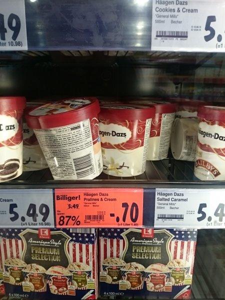 [Lokal?] Kaufland - Häagen-Dazs pralines und cream 500ml - 0,70€