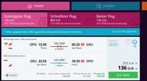 Error Fare: Günstige Flüge nach Brasilien inkl. Gepäck nur 136 €