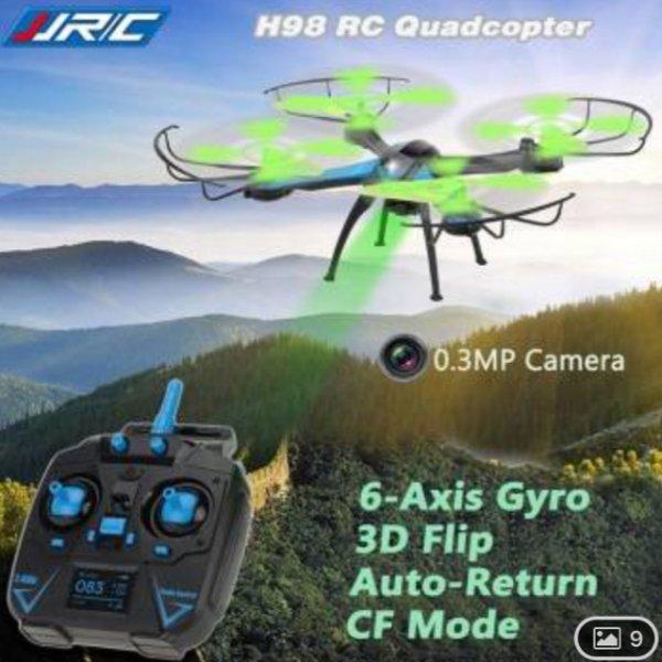 Einsteigercopter für 23€ Quadrocopter Drohne JJRC