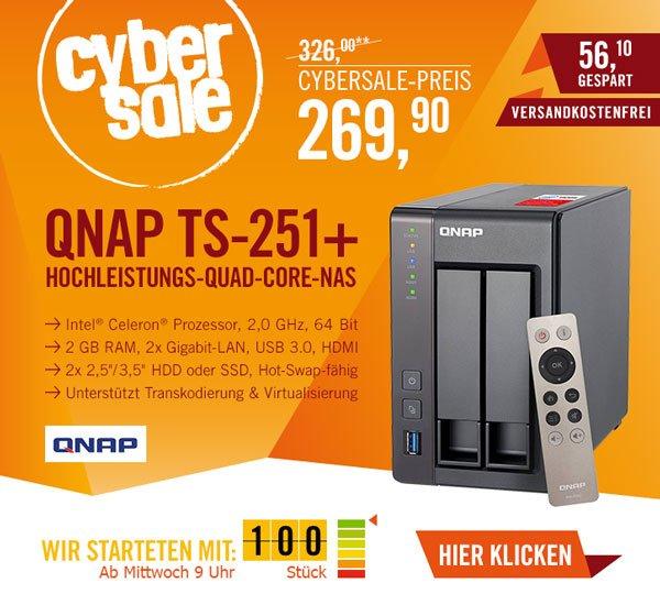 QNAP TS-251+ NAS-System