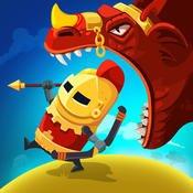 (iOS) Dragon Hills - putziges Action-Spiel für Ritterinnen und Ritter
