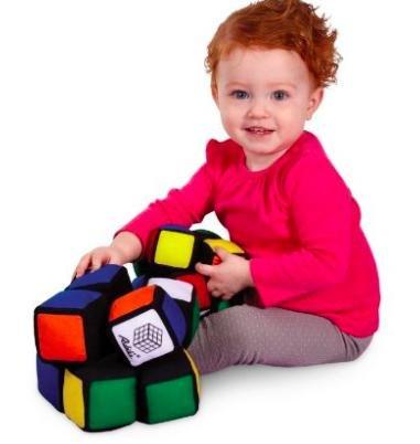 [Amazon Plusprodukt] Spielzeuge in der Übersicht, z.B. Jumbo Rubik's Baby - My first Cube für 3,40€ statt ca. 16€