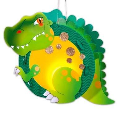 [Amazon Plusprodukt] Folia 94105 - Laternenbastelset T-Rex, circa 34 x 24 x 11 cm für 1,65€ statt ca. 9€