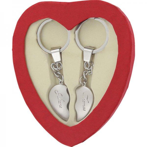 [Gravurzeile] Broken Heart Schlüsselanhänger | 52% Ersparnis