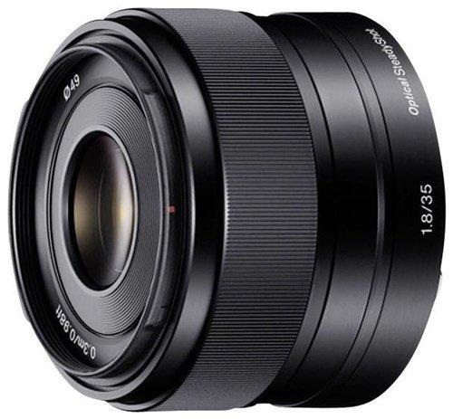 Sony SEL35F18 E 35 mm f/1,8 OSS - Lichtstarke Festbrennweite für Sony E-Mount (z.B. a6000) für 324€ @computeruniverse