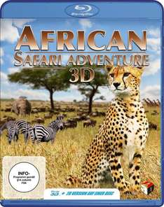 [Amazon Prime] African Safari Adventure [3D Blu-ray]