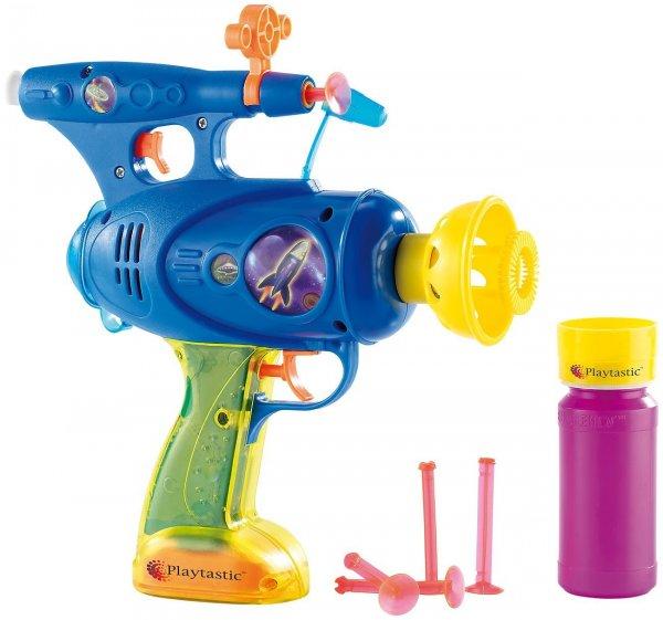 [AMAZON by Peal] Playtastic 3in1 batteriebetriebene Seifenblasenpistole (schießt Seifenblasen, Wasser und Gummipfeile) für  5,50€ + Versand