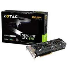 Zotac GeForce GTX 970 AMP! Edition ab 288,89 € Zotac GeForce GTX 970 AMP! Extreme Core Edition ab 321,89 € @ Caseking