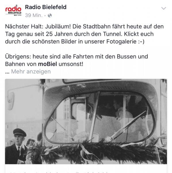 Bielefeld moBiel kostenlos Bus und Bahn heute fahren!