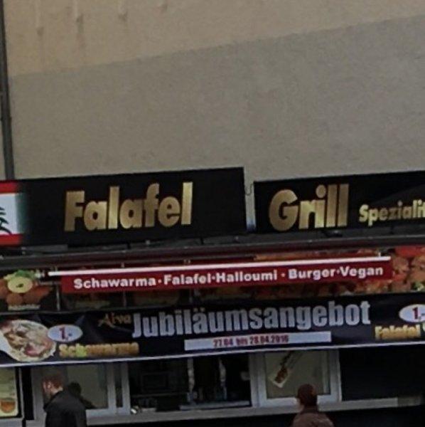[Lokal Berlin-Charlottenburg] Schawarma und Falafel je 1€ als Jubiläumsangebot