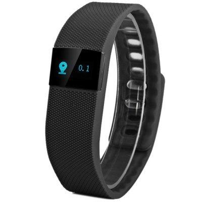 [TinyDeal] Fitness Tracker TW64 Smart Wristband mit OLED-Display (Uhrzeit, Schritte, Kalorien usw.), Vibration, Schlaf-Tracking, IP67 Wasserabweisend für 7,90€ - iOS & Android