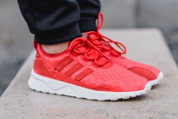 Adidas ZX Flux Verve  - Damen - in grau, rot und blau für 39,90 € inkl. Versand! (Größe 36 - 42)
