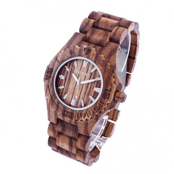 Handgemachte Echt-Holzarmbanduhr 11 Euro günstiger
