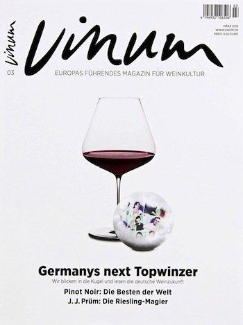 """10 Ausgaben des Weinmagazins """"Vinum"""" ab eff. 5,00€"""