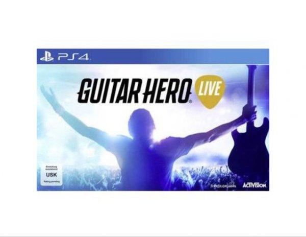 Playstation 4 Guitar Hero Live für 39,99 Euro bei Conrad.de