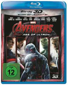 (Amazon Prime) Avengers - Age of Ultron (3D + 2D Blu-ray) für 14,90€