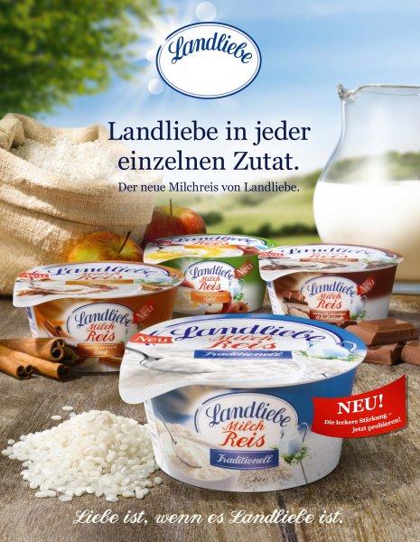 Sky Nord-Deutschland, Landliebe Milchreis 6 Stück 1,64€