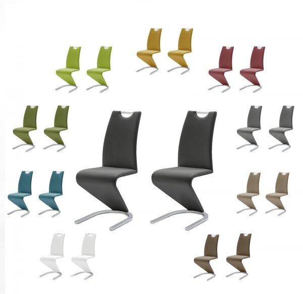 2er Set MCA Schwingstuhl Amado in 10 verschiedenen Farben bei Ebay 99,95 (-28%)
