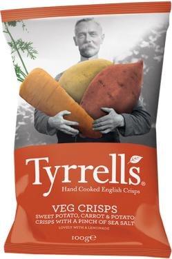 [Müller] Tyrrells English Chips — Unsere Gemüsechips