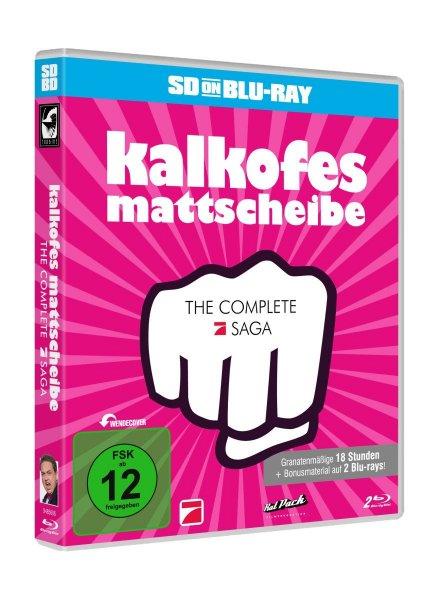 [Mediamarkt] Kalkofes Mattscheibe - The Complete ProSieben-Saga (Kalkofes Mattscheibe 2004-2008) (Bluray) für 21,99€ versandkostenfrei