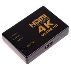 @Amazon: HDMI Switch 3 x IN / 1 x OUT / HDMI 1.4b, 3D TV, HDCP, Full HD 4K*2K Video ab 8,89€ mit Prime