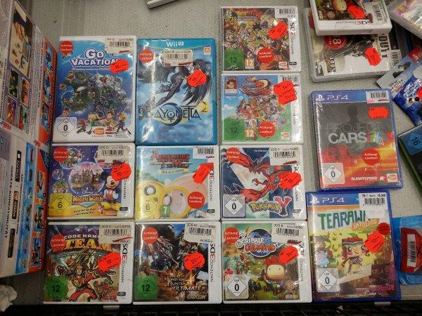 [Real - Freiburg] Diverse Games, viele Einzelstücke, teilweise auch mehrere vorhanden 3DS / PS4