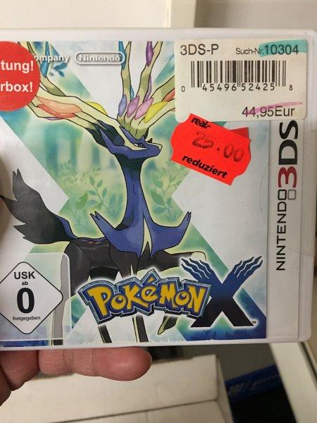 [Real Goslar Offline] Pokemon X & Y für 25€