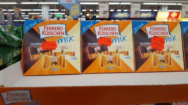 [Lokal Siegen] real,- Ferrero Küsschen Mix 1,50€ statt 2,99€ MHD 12.05.2016