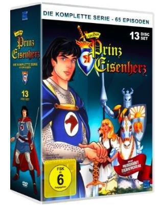 [Amazon] Die Legende von Prinz Eisenherz - Die komplette Serie [13 DVDs], Spielzeit 1515 Minuten, für 39,97€ statt ca. 53€