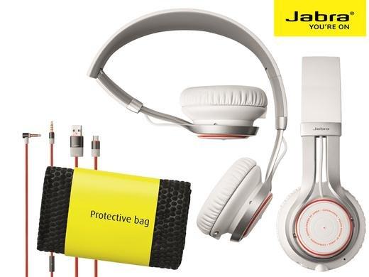 (iBood.de) Jabra Revo Wireless Bluetooth On-Ear-Kopfhörer (Stereo-Headset, Bluetooth 3.0, NFC, Freisprechfunktion) (27% unter idealo)