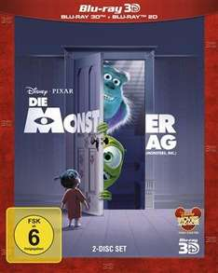 (CeDe) Die Monster AG (Blu-ray 3D + Blu-ray) für 11€