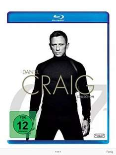 James Bond 007: Daniel Craig Collection inkl. Spectre [Blu-ray] Amazon PRIME für 24,99 Euro