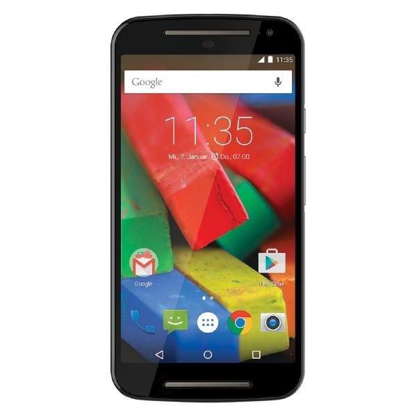Motorola Moto G™ (2. Generation) mit 4G LTE schwarz Android™ 5.0 Smartphone für 111€