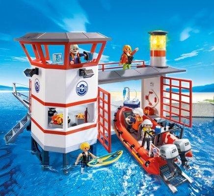 Playmobil Küstenwachstation mit Leuchtturm 5539