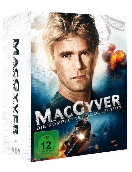 MacGyver - Die komplette Collection (38 Discs) für 44,97€ bei amazon.de