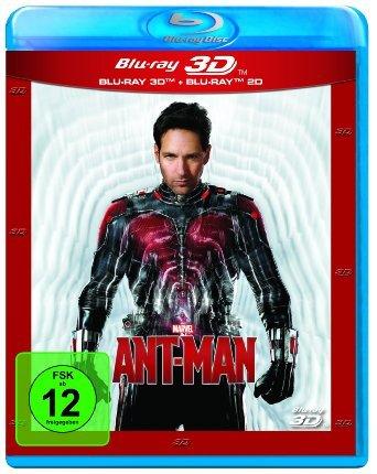 [amazon.de] Ant-Man (+ Blu-ray) [Blu-ray 3D] für 14,90 € Primekunden
