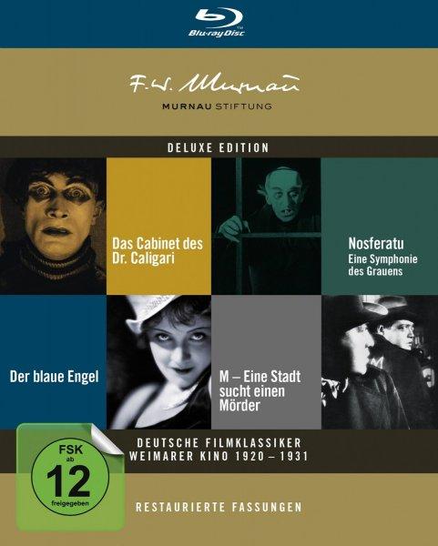 [Amazon] Deutsche Filmklassiker Weimarer Kino 1920-1931 (restaurierte Fassungen, Bluray) für 34,97€