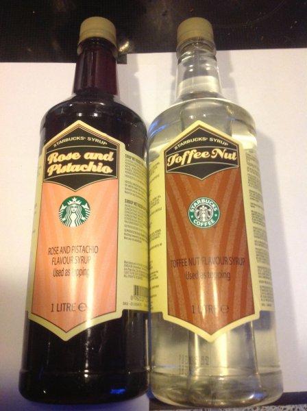 [lokal Dresden] Starbucks Hbf 1 Liter Sirup gratis bei Kauf von 1 Pck Kaffee