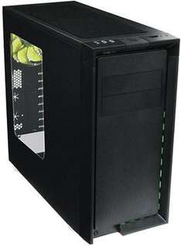 [Vibu Online / Mindfactory] Nanoxia CoolForce 2 PC Gehäuse (3x 140mm Lüfter, schallgedämmt, Lüftersteuerung, Kabelmanagement) für 79,08€