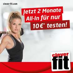 [Lokal München] clever fit 2 Monate all-in ohne Vertrag