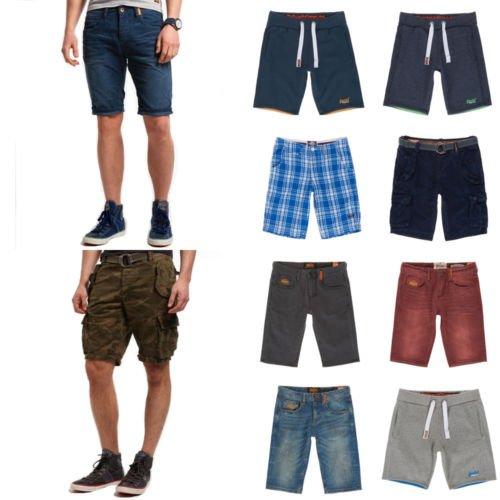 Ebay - Neue Herren Superdry Shorts Versch. Modelle und Farben