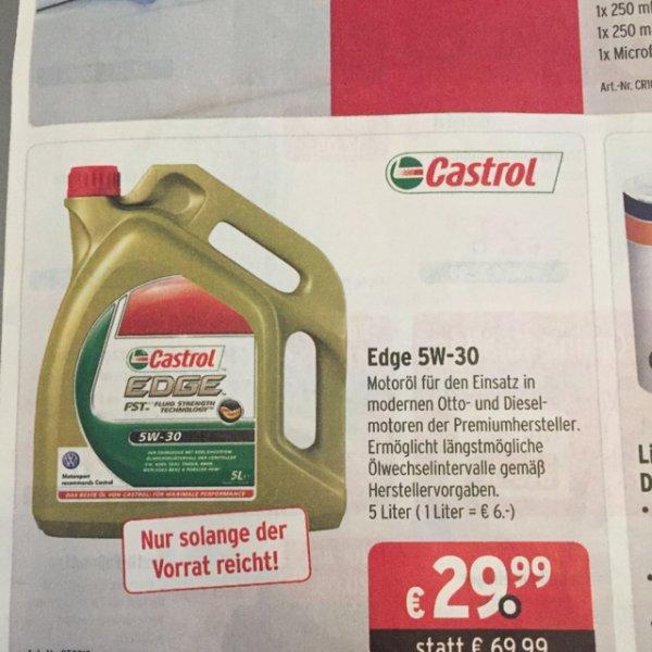 Castrol Motoröl EDGE 5w-30 bei ATU