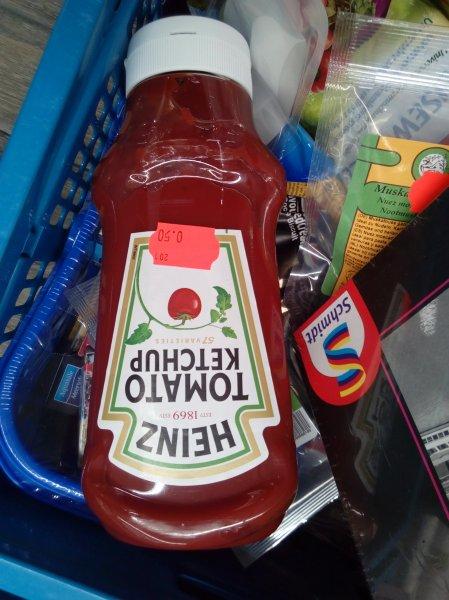 [Bonn] 910gr Heinz Tomatenketchup (MHD 04/2017) für 0,50€