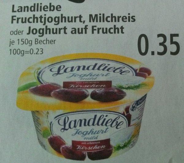 [Marktkauf Südbayern] KW 18: Landliebe Joghurt oder Milchreis 6 Stück für 1,10€ [Sonderangebot + Coupon]