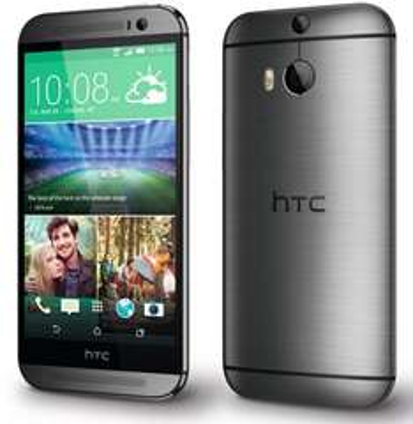 "[Cyberport] HTC One M8 Gunmetal Grey - NEU - LTE 16GB, 2 GB RAM, SD801, 5"" FHD, Android 6 Marshmallow, 5+4 MP Dual Ultrapixel Kamera, 2600 mAh - kostenloser Versand/(€11,00 GS evtl. möglich! dann nur €228,00)"
