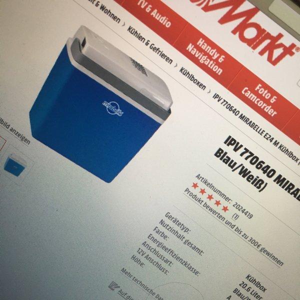 IBV Kühlbox ideal für kalte Getränke