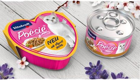 Katzenfutter gratis testen (Poésie von Vitakraft) GzG