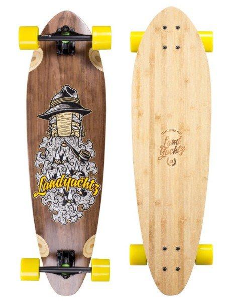 Longboard Cruiser - Landyachtz Fibreglass Stout Complete